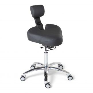 BQE Dynamic ergonomische werkstoel in de kleur zwart