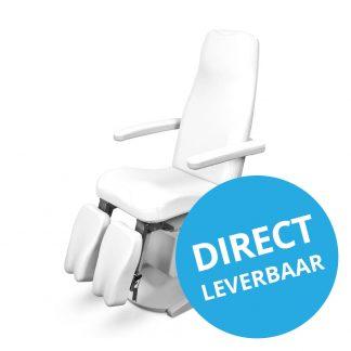 SB Design Pedicure behandelstoel met dubbele beensteun